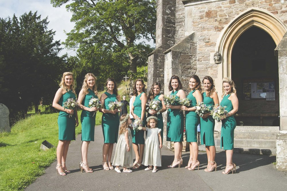 Flowers by Jennifer Pinder. Wedding Florist London Kent turquoise bridesmaids2.jpg