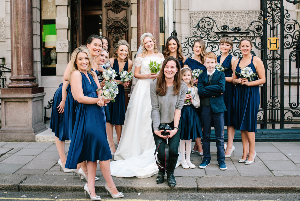 kent florist Jennifer Pinder London wedding in Dartmouth house spring flowers in blue and white 2.png