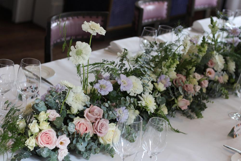 pastel flowers by Kent florist Jennifer Pinder