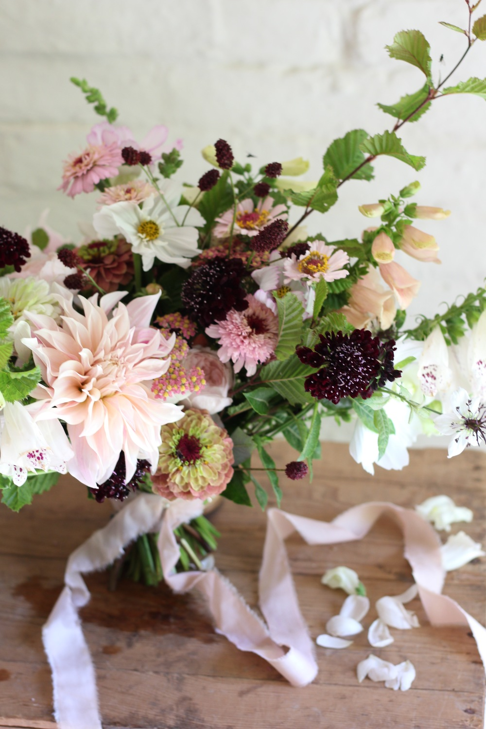 Kent florist Jennifer Pinder flowers for your wedding in Chiddingstone Penshurst Hever
