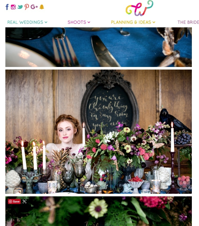 Whimsical Wonderland Weddings Blog