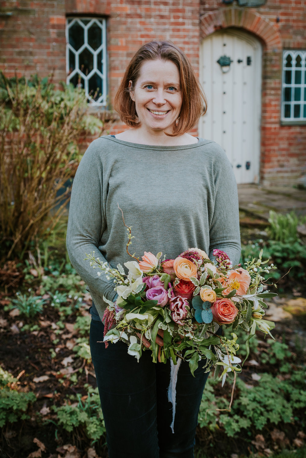one to one floristry lesson Kent with Jennifer Pinder