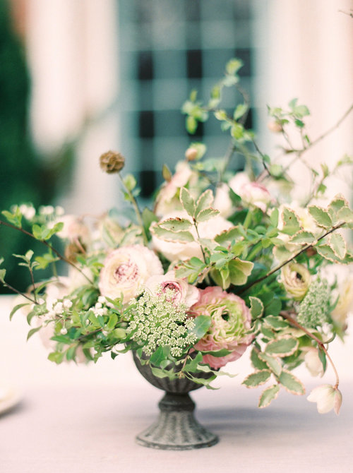 Hand Tied Bouquet & Table Arrangement — Jennifer Pinder Kent Wedding ...