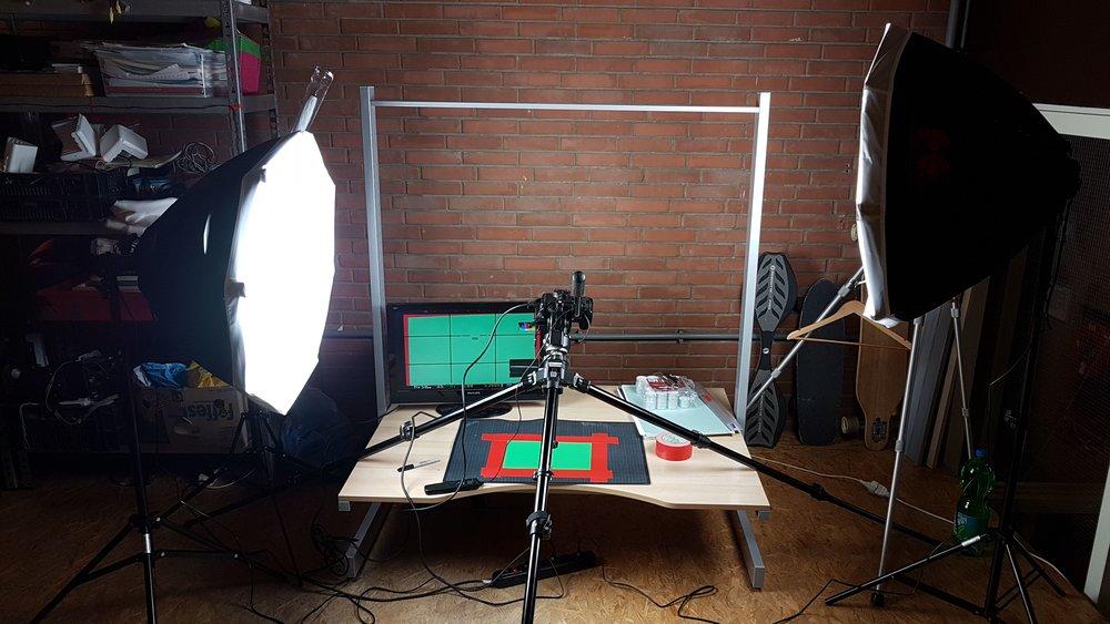 Green Screen met Stop Motion oefeningen...