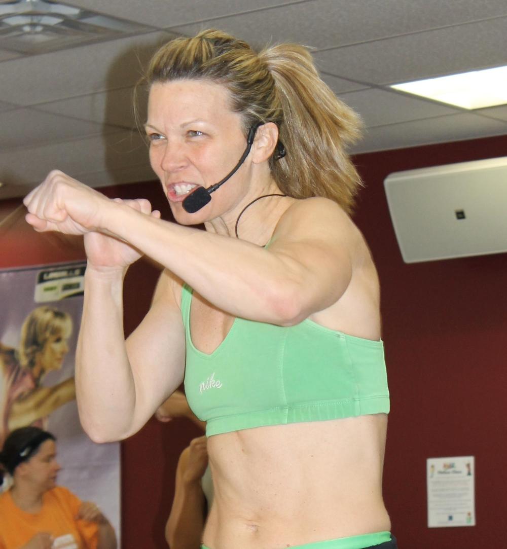 Sandy Morvillo, Group Fitness Director