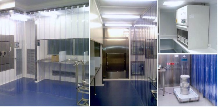 The Covering Is Chosen Based On The Activity That Is Carried Out Inside The Clean Room