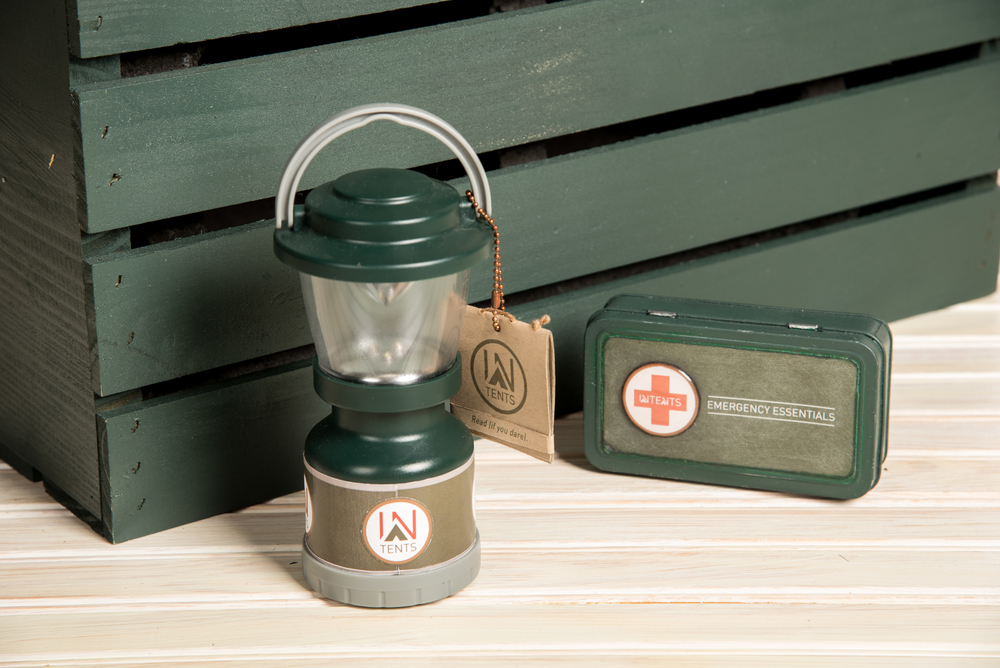 Lantern and First-aid