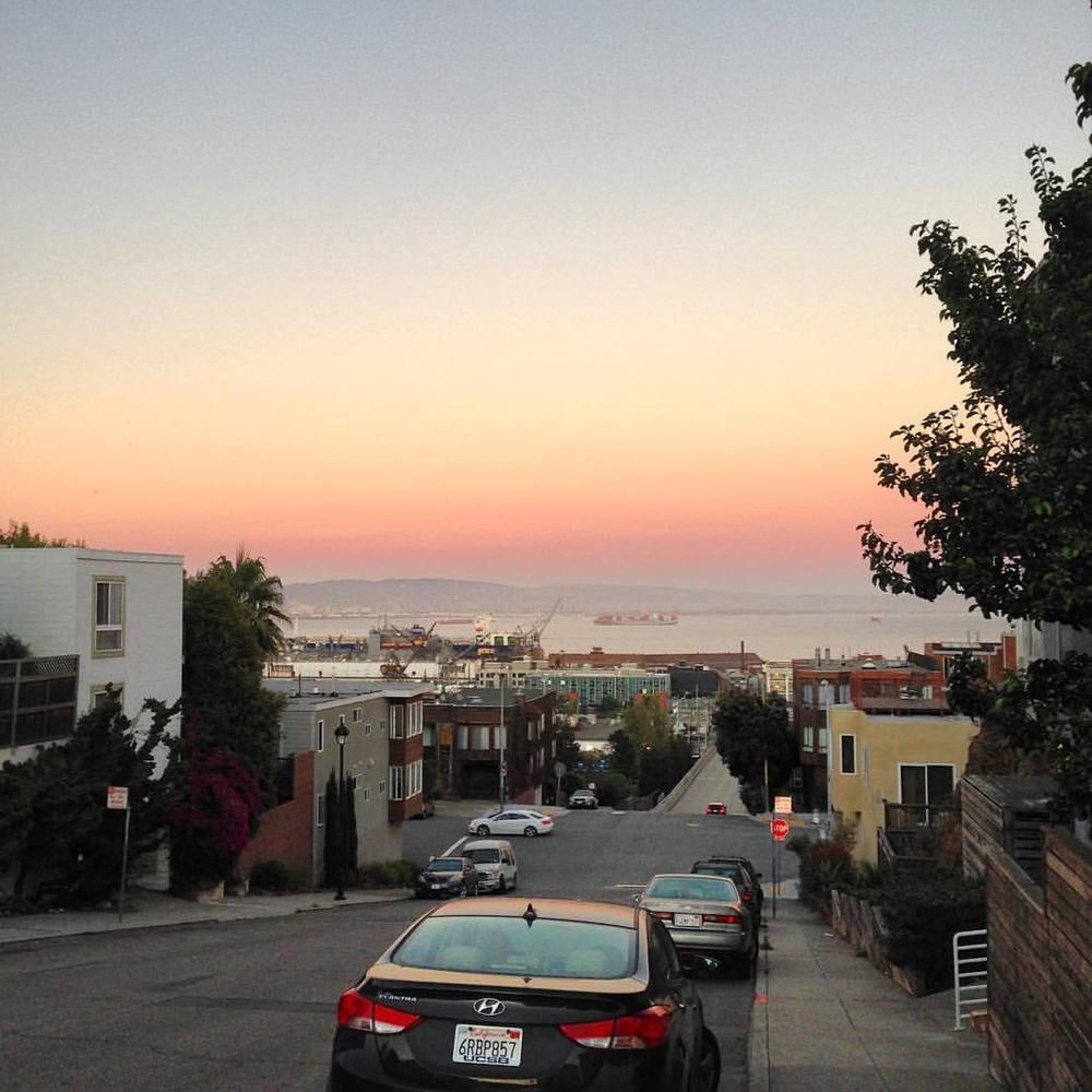 San Francisco Pink (at Potrero Hill District)