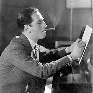 I gotta up my suit and cigar game when composing… #GeorgeGershwin #suitandcigar #piano #composing #Music #jazz #rhapsody