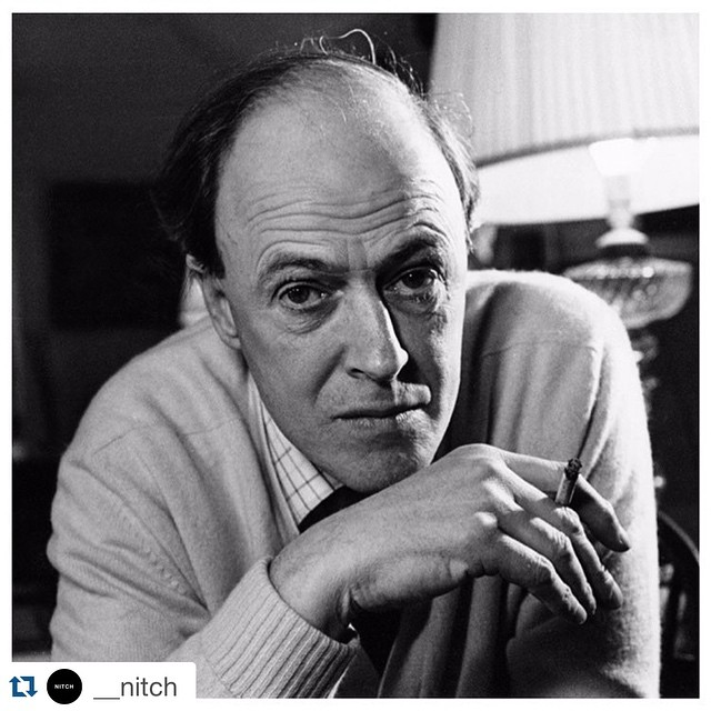 "#Repost @__nitch  ・・・  Roald Dahl // ""I began to realize how important it was to be an enthusiast in life…if you are interested in something, no matter what it is, go at it at full speed ahead. Embrace it with both arms, hug it, love it and above all become passionate about it. Lukewarm is no good. Hot is no good either. White hot and passionate is the only thing to be."""