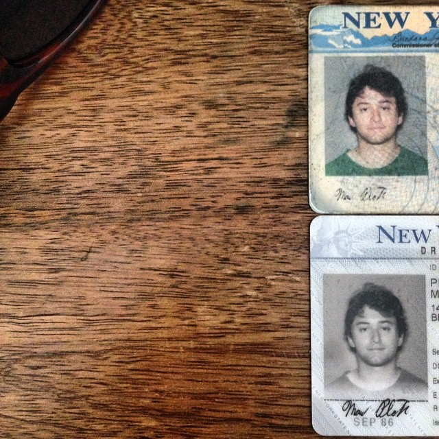 Which is creepier, my not-worth-the-effort-to-change drivers license photo in Technicolor or B&W?