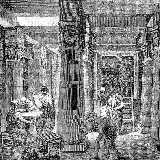 at The Great Library of Alexandria