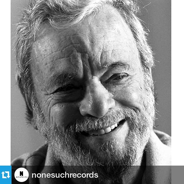 #Repost @nonesuchrecords ・・・ Happy belated birthday to Stephen Sondheim, who turned 85 on Sunday! #stephensondheim #sondheim #hb