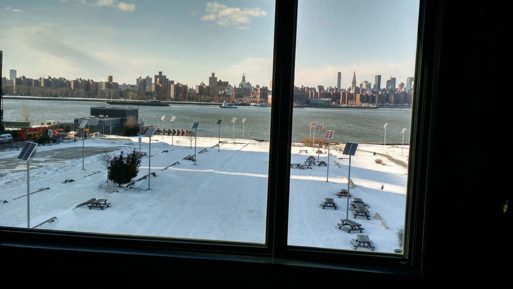 Yea…the view from the keezy office is alright…Thanks to psql for having me over!