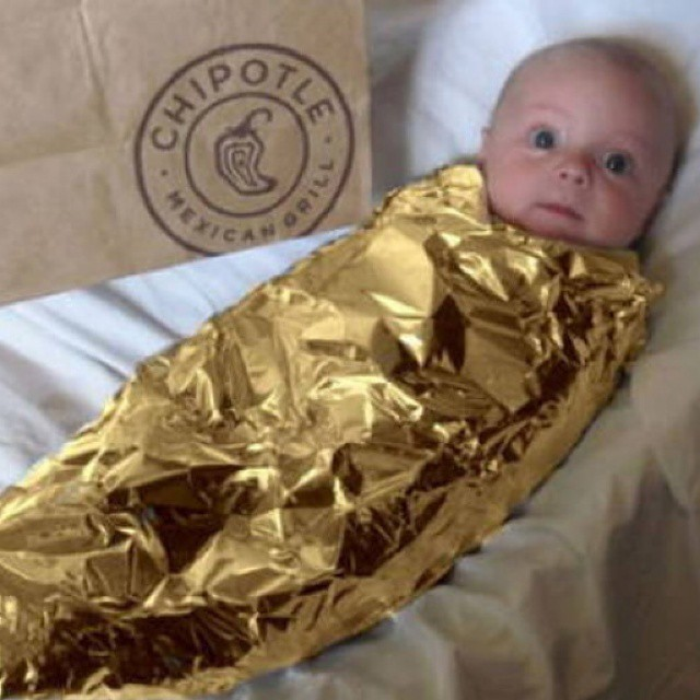 I just thought the entire Internet should see this. #burritobaby