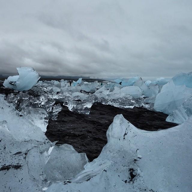 Not your Grandma's beach…    #Iceland #latergram