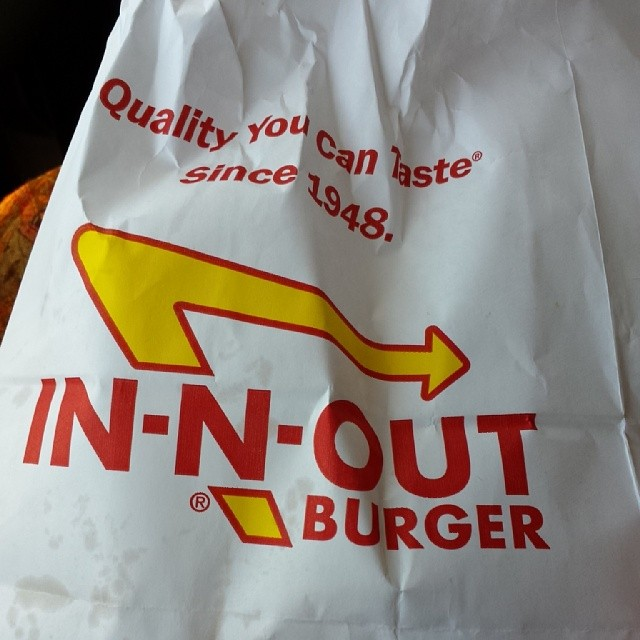 Good to see you again old friend. Please open a NYC branch. (at In-N-Out Burger - Westchester)