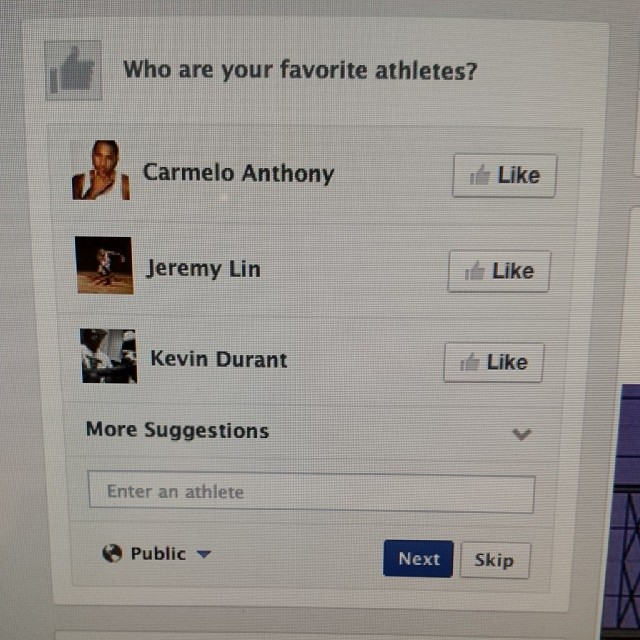 Clearly Facebook just doesn't know me anymore…