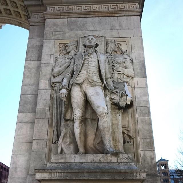 George (at Washington Square Park)