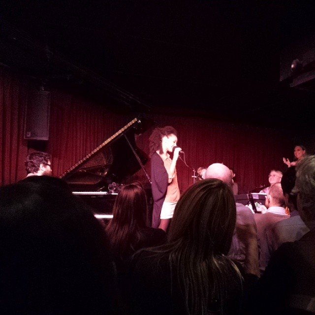 Esperanza Spalding Chamber Music Society. Some of the best sounds I've ever heard.  (at Village Vanguard)