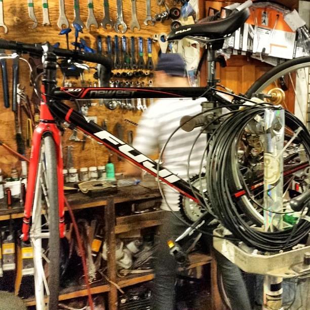 New bike :-) (at B's Bikes)