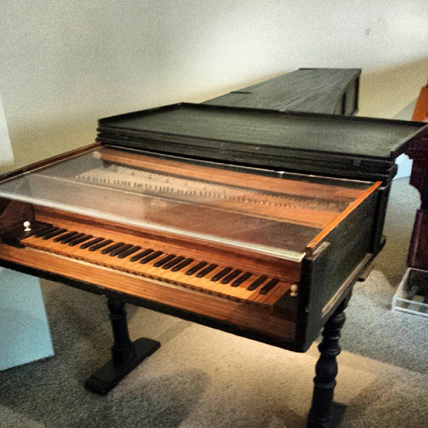 Oldest piano in the world!