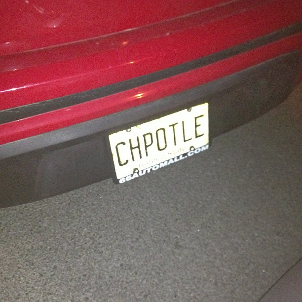 It's possible this person loves Chipotle more than me.