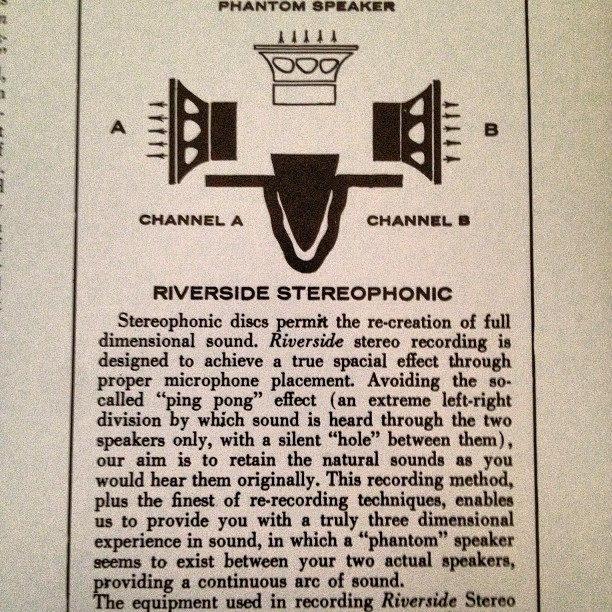 How come Spotify doesn't come with a pretty explanation of stereophonic sound?