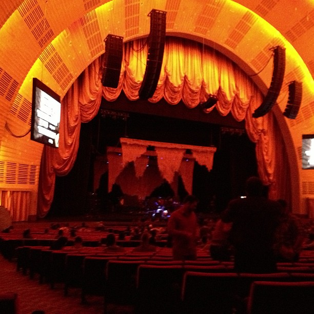 Fav venue in the city (Taken with  Instagram  at Radio City Music Hall)