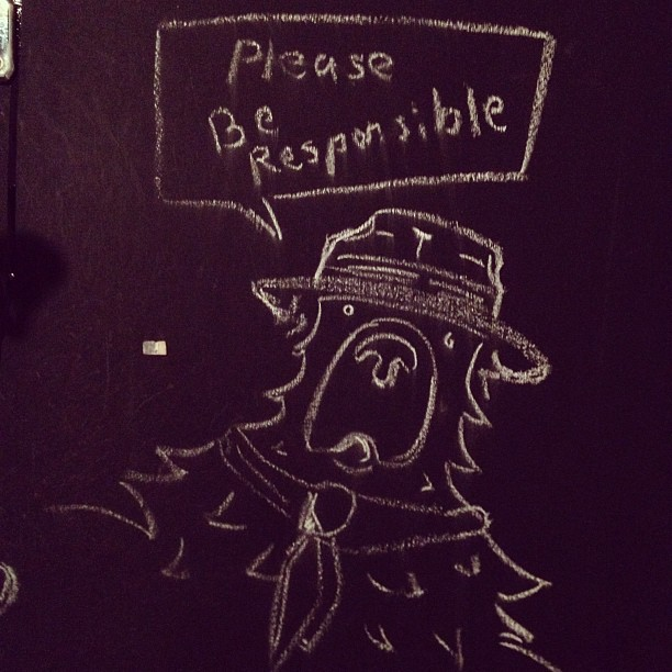 What Smokey said (Taken with Instagram at Modca)