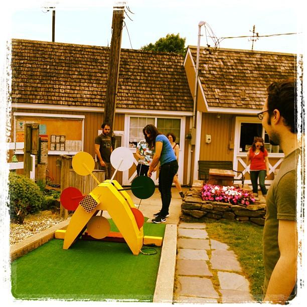 Mini golf! (Taken with Instagram at Baker's Golf Center)