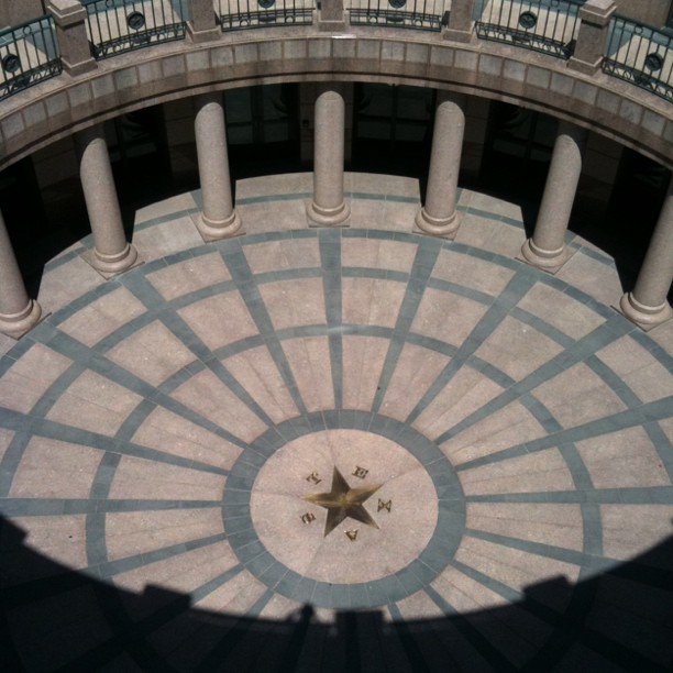 Cool Texan Architecture (Taken with Instagram at Texas State Capitol)