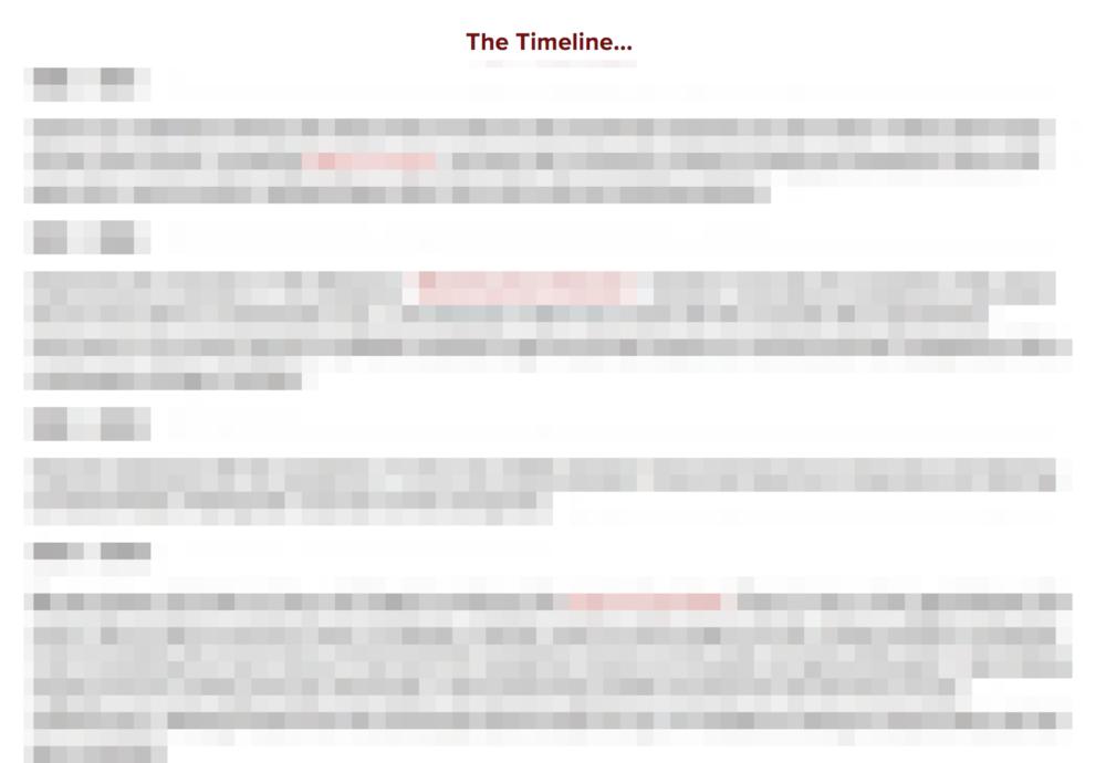 Timeline Bio -