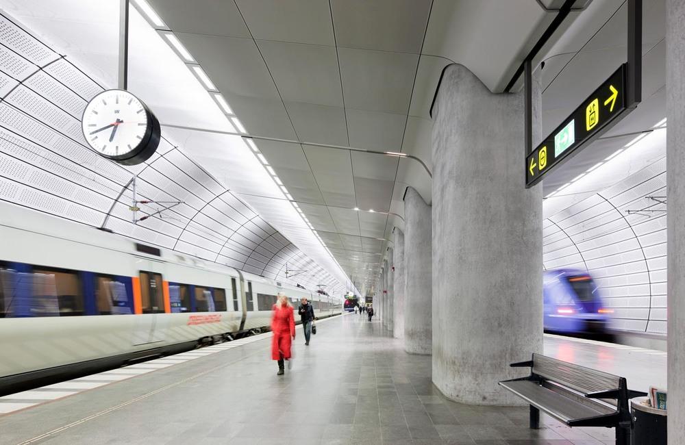 Malmo Citytunneln, Triangeln Station Platforms  [© Kasper Dudzik]