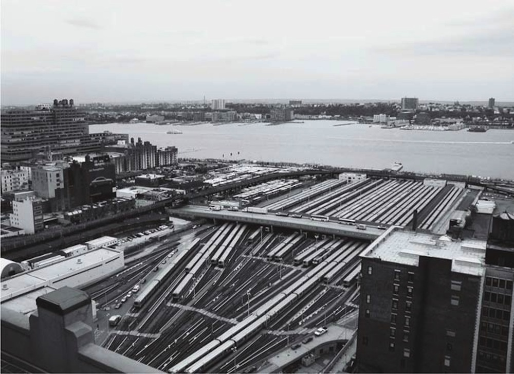 Hudson Yards served as a waterfront layover yard for Penn Station  [© Julian Brash via Archpaper.com]