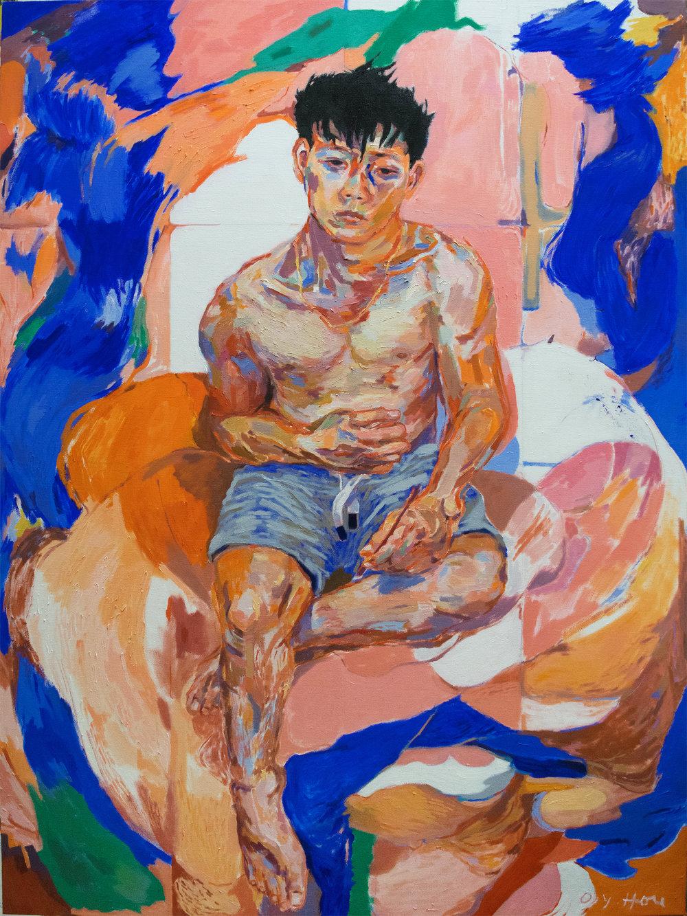Self-portrait (19)  by Oscar yi Hou