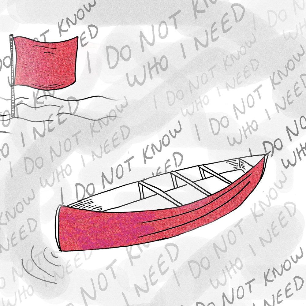 Canoe  by Jessica Gruenstein