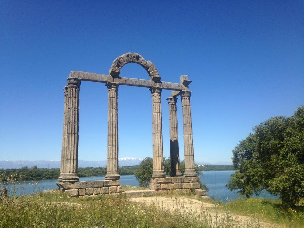 Remaining arches of Augustobriga