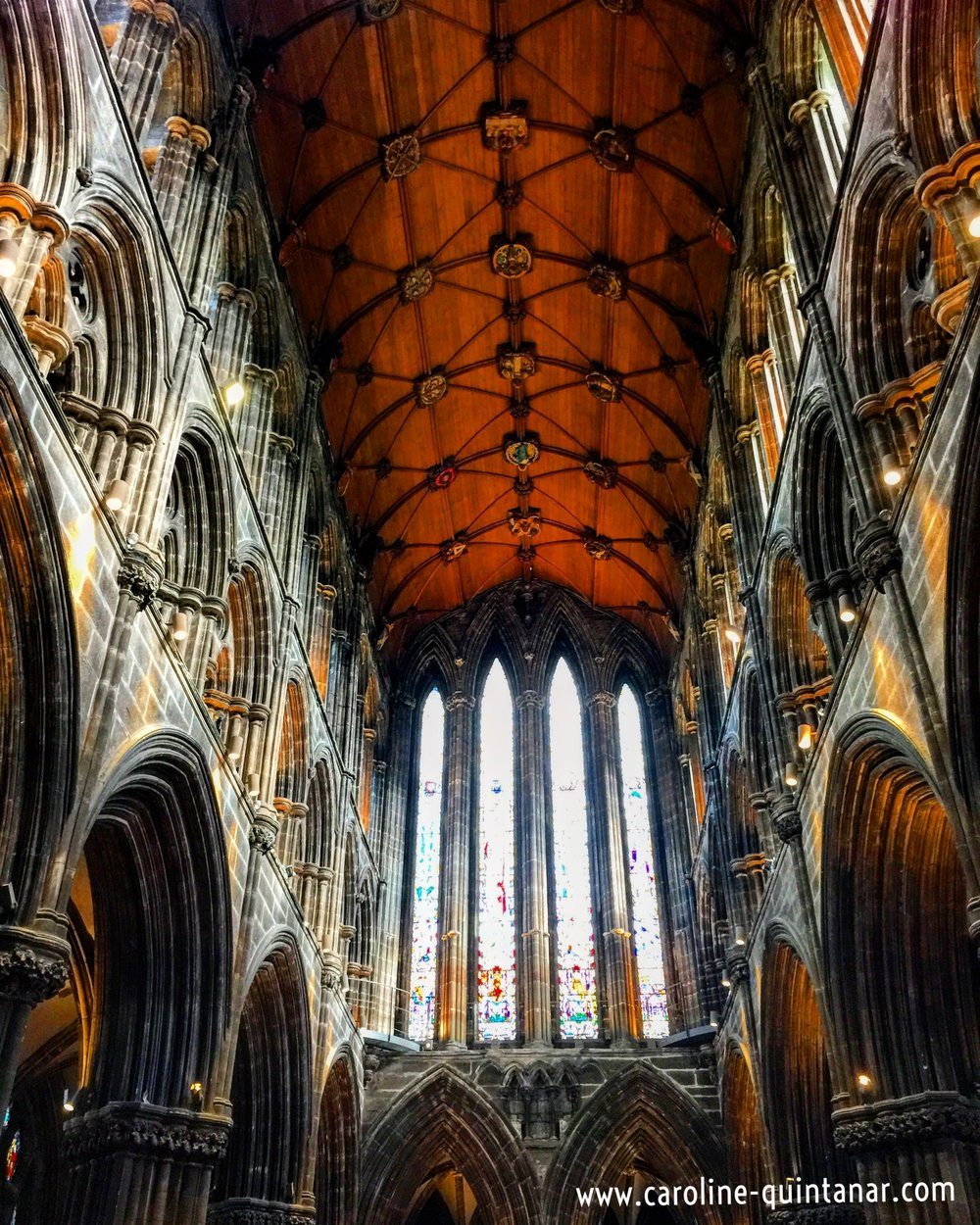 Interior of Glasgow Cathedral (St. Mungo's)