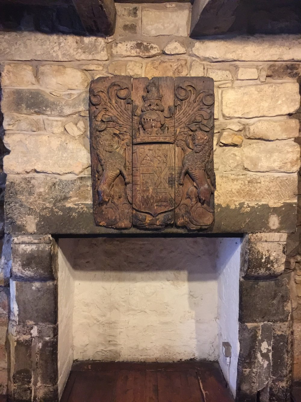 Fireplace in Provand's Lordship