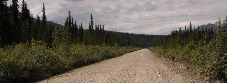 Denali Highway Gravel Road