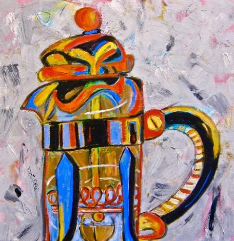 Arrogant Man , oil on canvas, 24 x 24