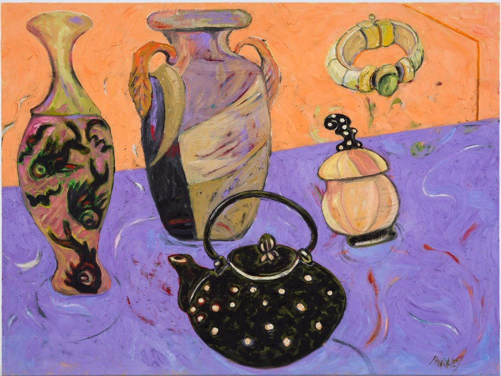 """Still Life With African Bracelet, h 30"""" x  w 40"""""""