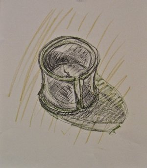 "Study for ""Old Bamboo Cups"""
