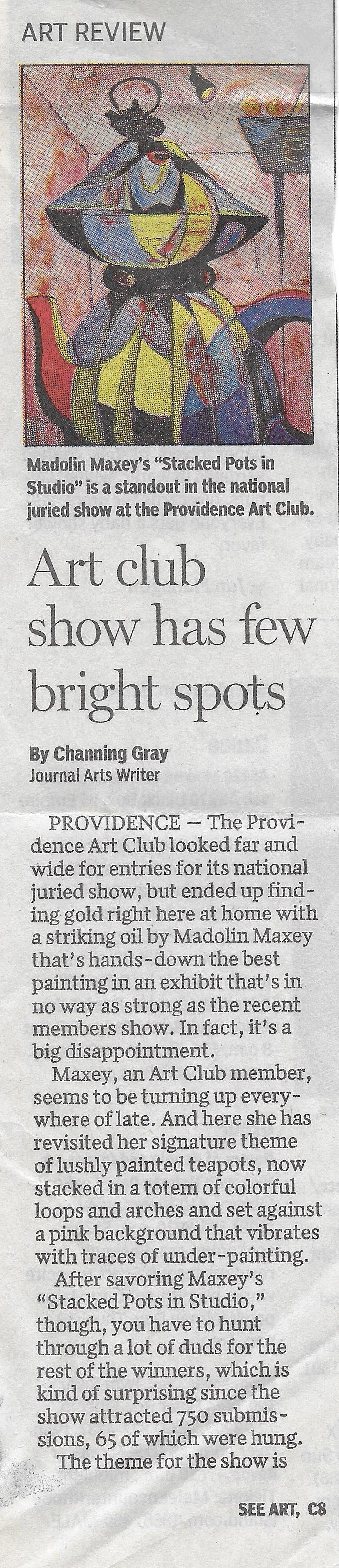 Providence Journal Bulletin, 2016