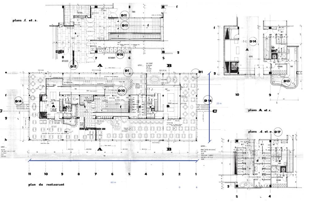 Plan du Restaurant | Restaurant Plan