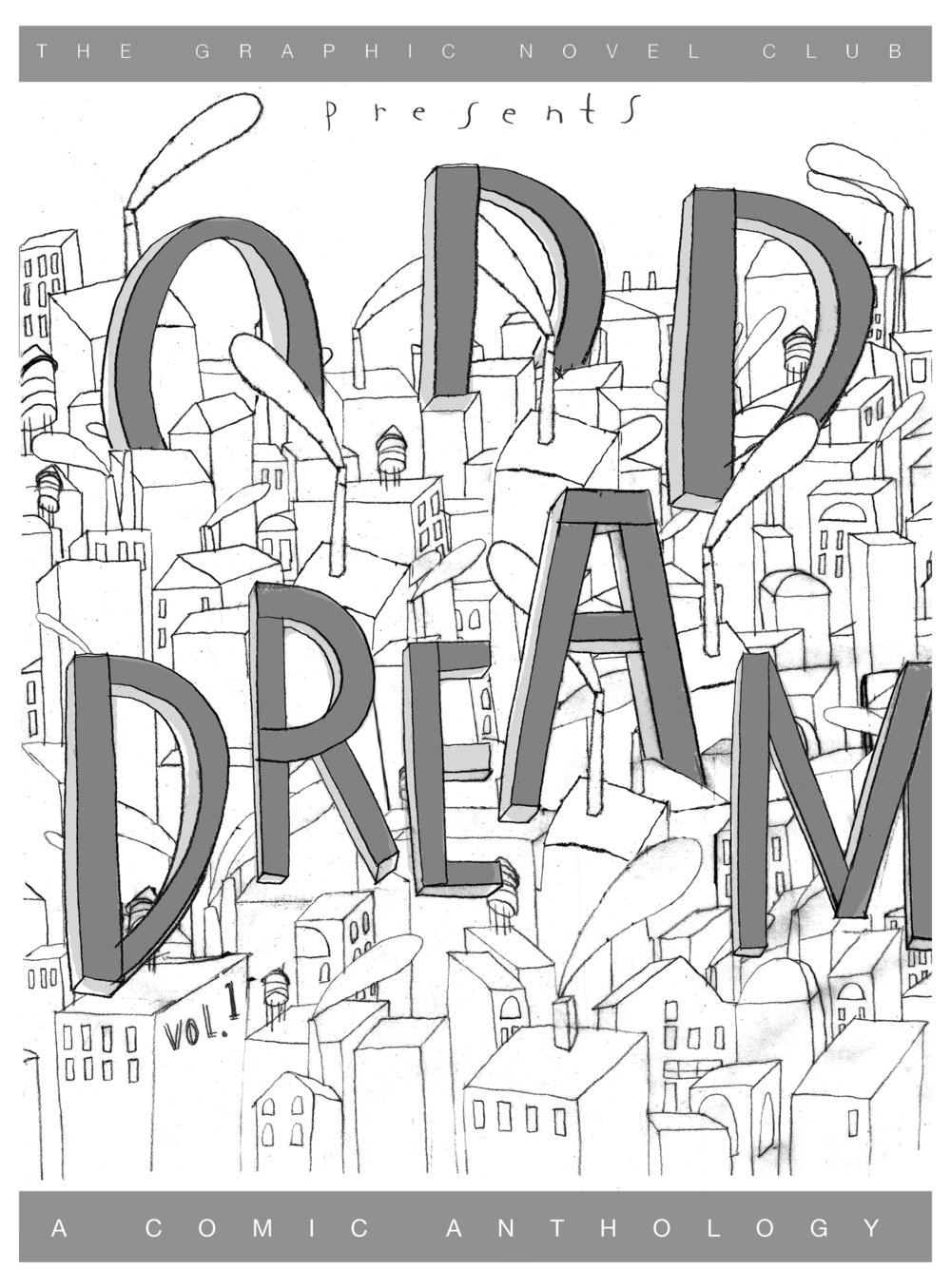 """Odd Dream"" Comic Anthology, 2017"