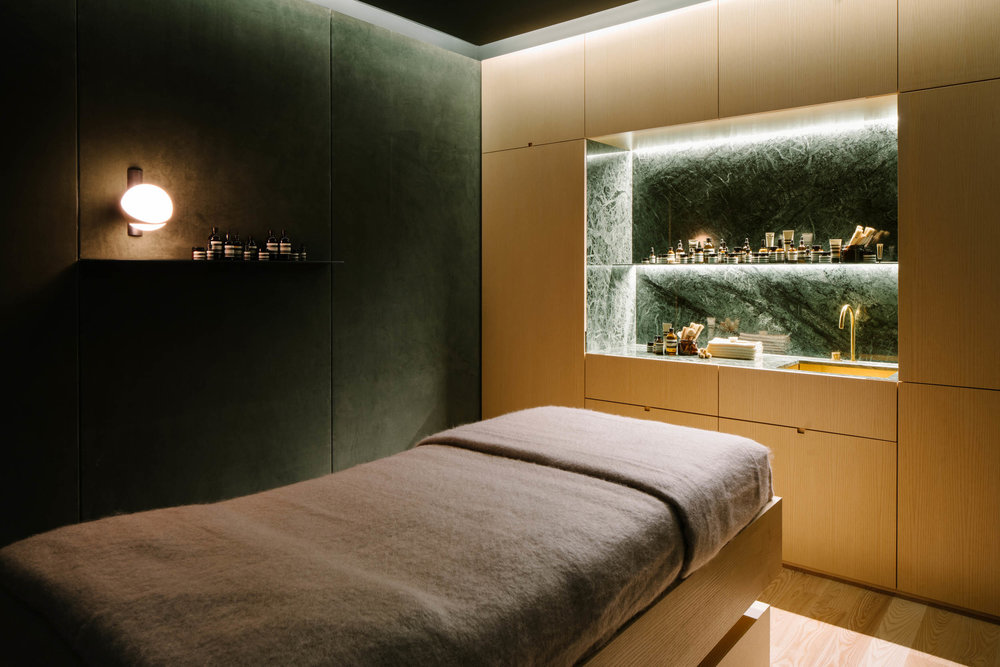 Client  Aesop  Project  Tangs Facial Appointment  Location  Singapore  Year  2017