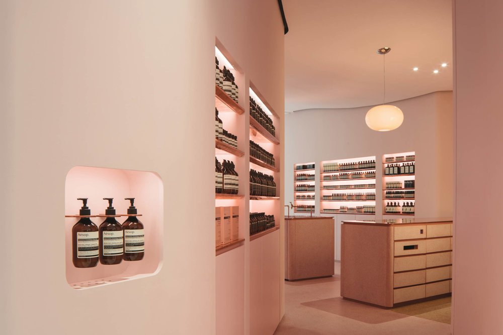 Client  Aesop  Project  Ngee Ann City Store  Location  Singapore  Year  2017
