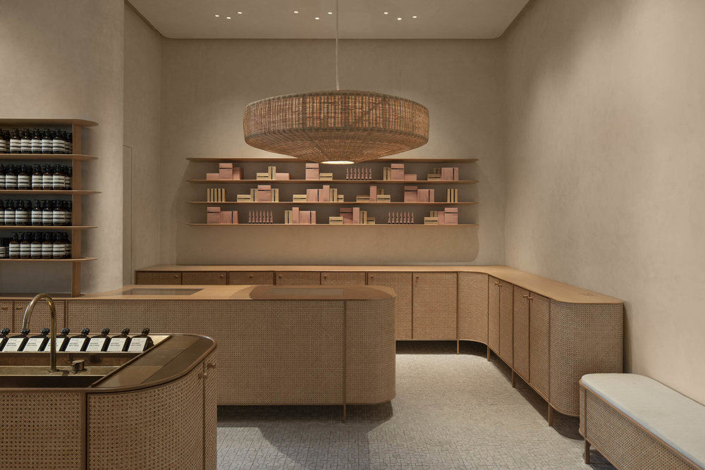 Client  Aesop  Project  VivoCity Store  Location  Singapore  Year  2018